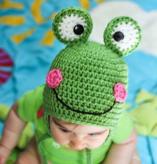 Шапочка лягушонка