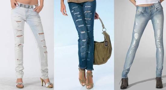 Как на джинсах сделать потертости фото 130