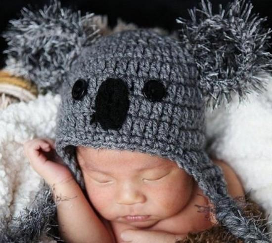вязаные шапочки для новорожденных крючком схемы Ls