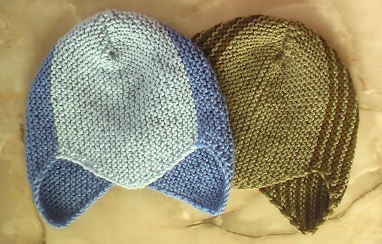Шелково-шерстяные шапочки