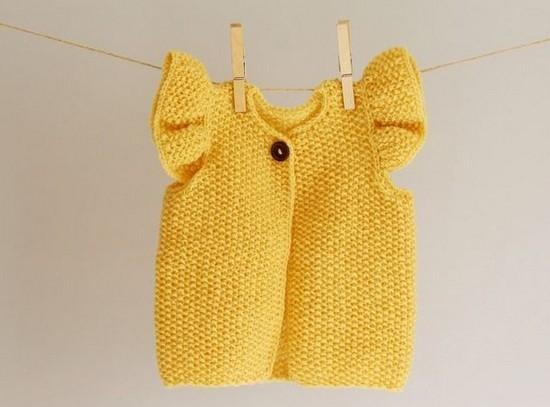 Жилетка спицами для девочки: идеи
