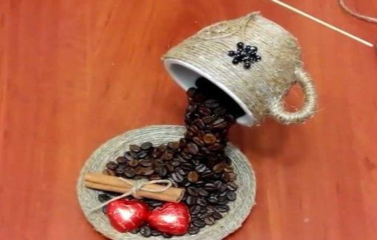 Что изготовить из кофейных зерен?