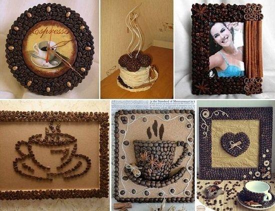 Поделки с кофе своими руками фото