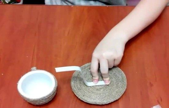 Поделки с кофейными зернами: описание процесса