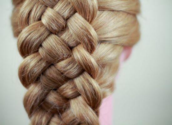 Коса из 5 прядей: схема классического плетения