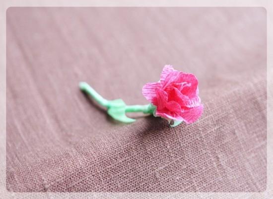 Соединение цветка со стеблем