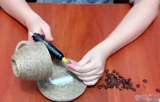 Как сделать кофейный водопад?