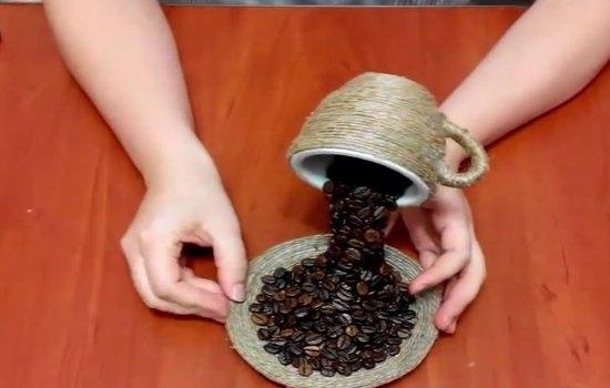 Поделки из кофе своими руками