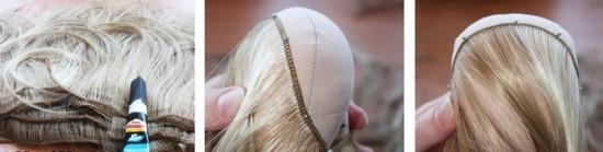 Как сделать кукле волосы?