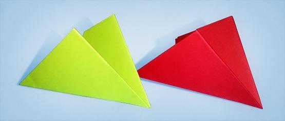 Как сделать двойную хлопушку из бумаги?