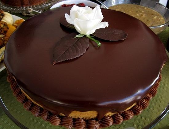 Как сделать шоколадную глазурь для торта из какао без молока