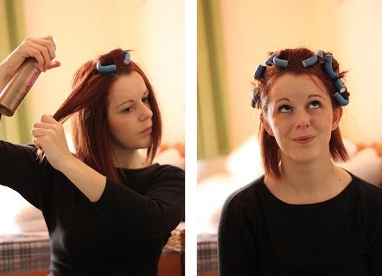 Как можно закрутить волосы без плойки и бигуди - e7093
