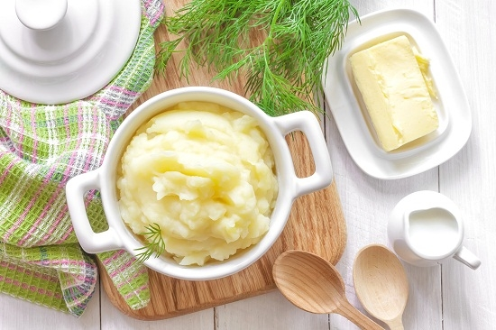 Картофельное пюре с яйцом: рецепт