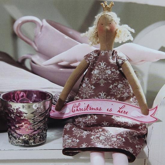 Кукла Тильда ангел: выкройки в натуральную величину и пошив