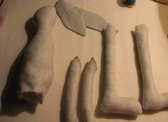 Кукла Тильда заяц: пошив