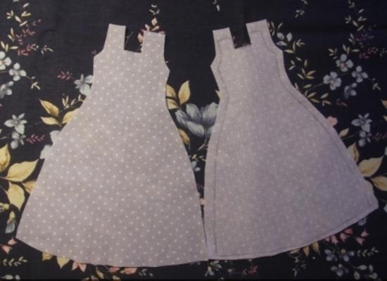 Выкройки одежды куклы Тильды в натуральную величину