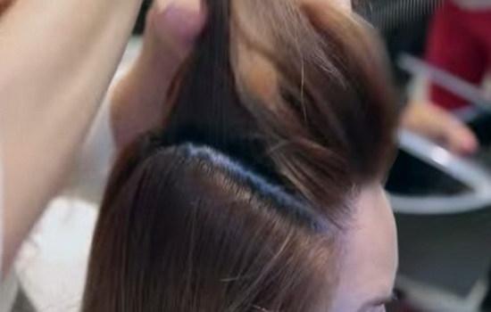 Крупные кудри на средние волосы с помощью бигуди