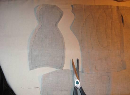 Кукла Тильда заяц: выкройки
