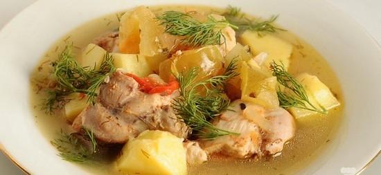Рецепт салата фасоль с копченой курицей