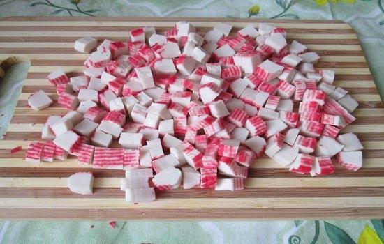 Рецепт крабовые палочки в домашних условиях