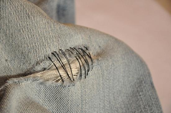 нитки для шитья и отстрачивания джинсовых тканей