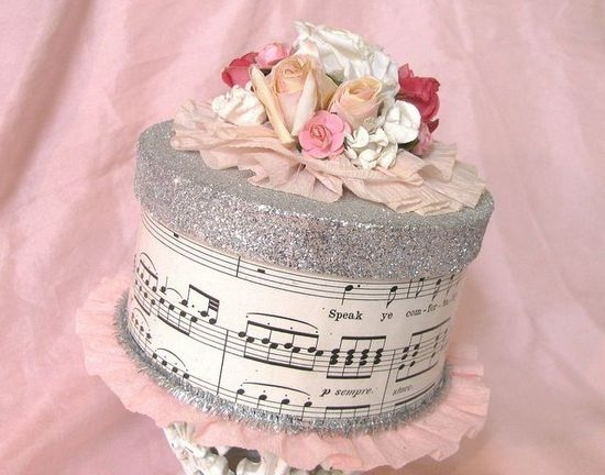 Коробка для торта своими руками