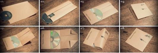 Как из бумаги сделать обложку для дисков