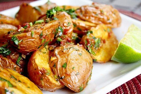 Картошка гриль в духовке рецепт с фото