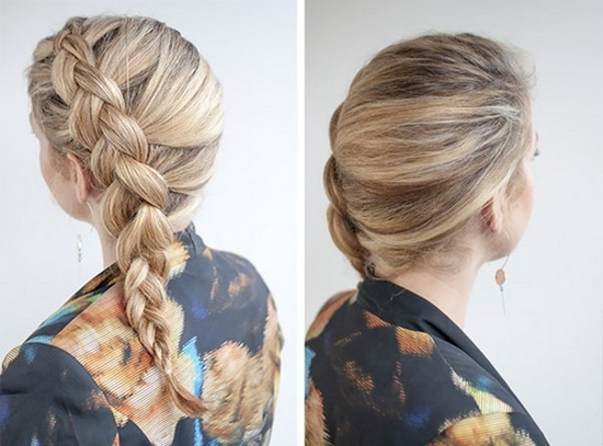 Как заплести французскую косу наоборот?