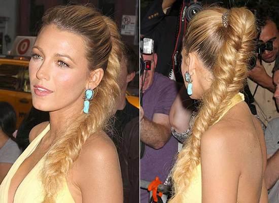 Как заплести французскую косу поэтапно из хвоста?
