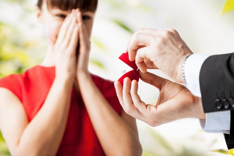 какие кольца дарят когда делают предложение