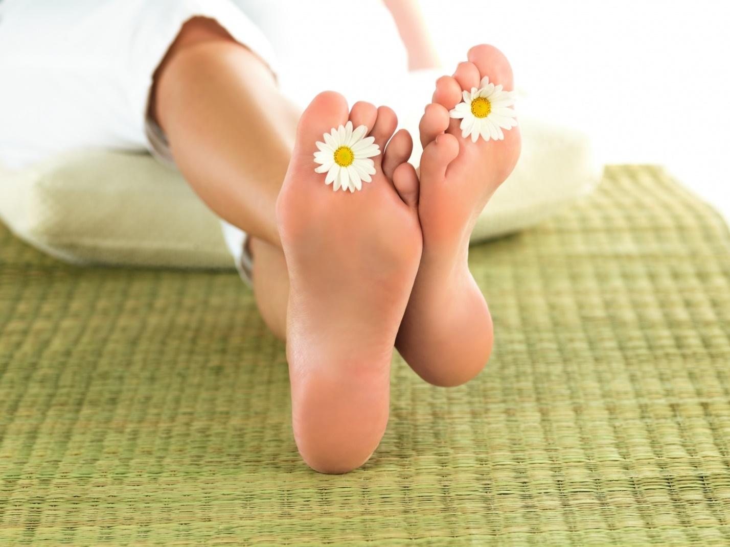 Как вывести грибок с ноги