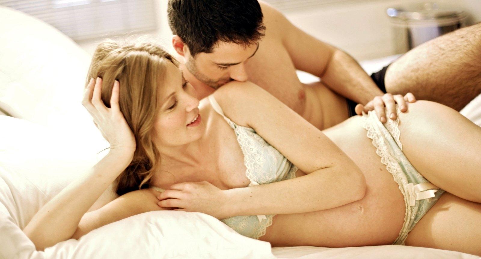 Вагинальный оргазм у беременных