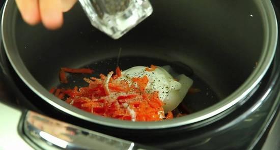 Лисички в мультиварке редмонд рецепты с фото