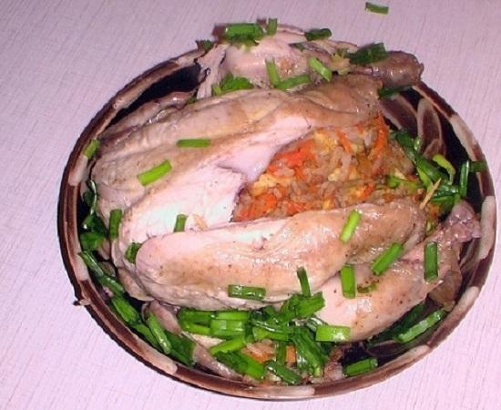 курица в пакете для запекания с картофелем в духовке рецепт с фото