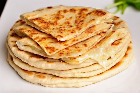 рецепт тоненьких лепешки с сыром