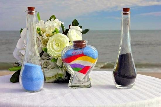 Новый свадебный обряд - песочная церемония