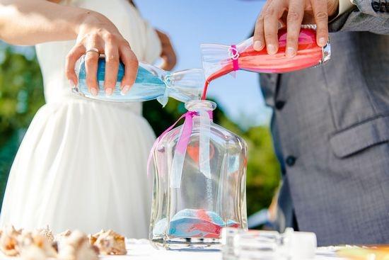 Как организовать песочную церемонию