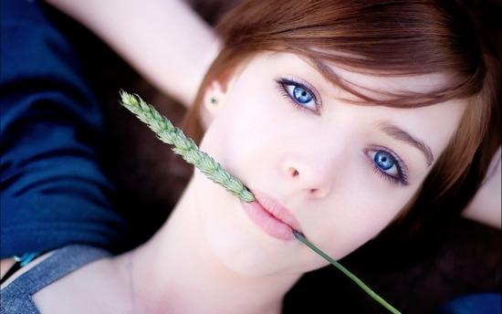 Цвет голос для голубых глаз рекомендации