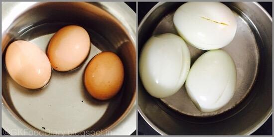 Яйца для начинки куриного рулета