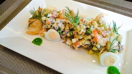 Настоящий салат «Оливье»: классический рецепт