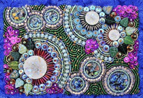 Схемы для вышивки из бисера в картинах