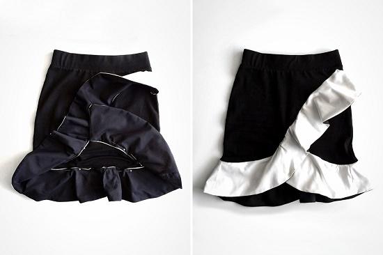 Игривая мини-юбка для свидания