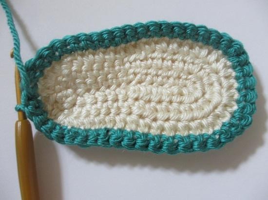 Пинетки крючком для мальчика: вязание