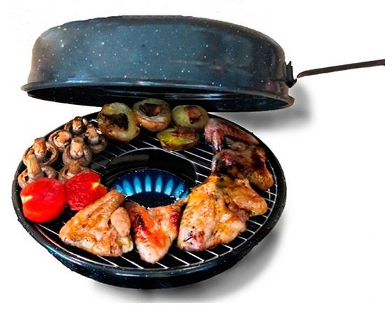 На сковороде газ-гриль можно готовить немало блюд