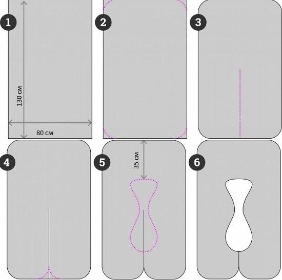 Подушка для беременных своими руками: выкройки
