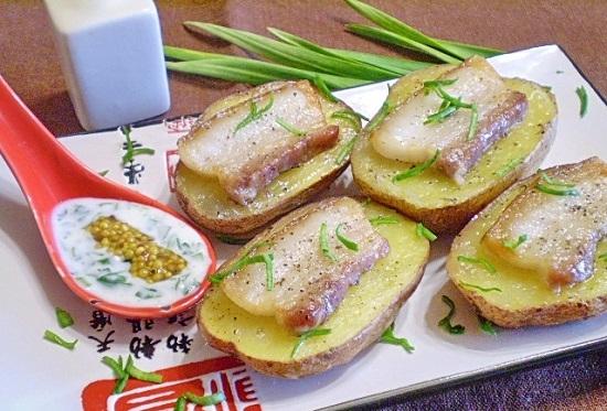 картошка духовке простой рецепт фото