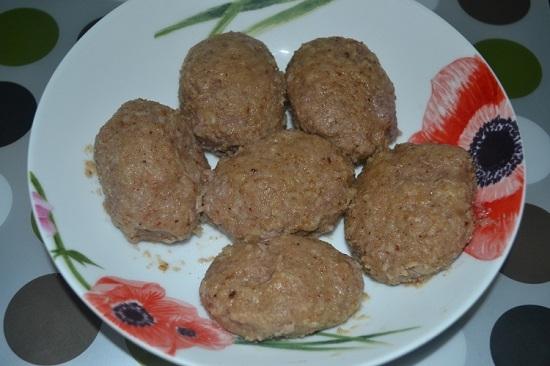 котлеты из говяжье свиного фарша рецепт