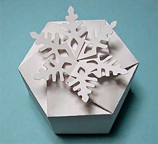Подарочные коробки на Новый год своими руками
