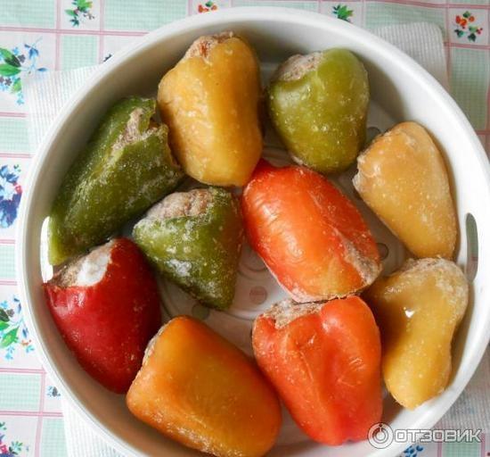 Фаршированный перец замороженный в мультиварке рецепт с фото